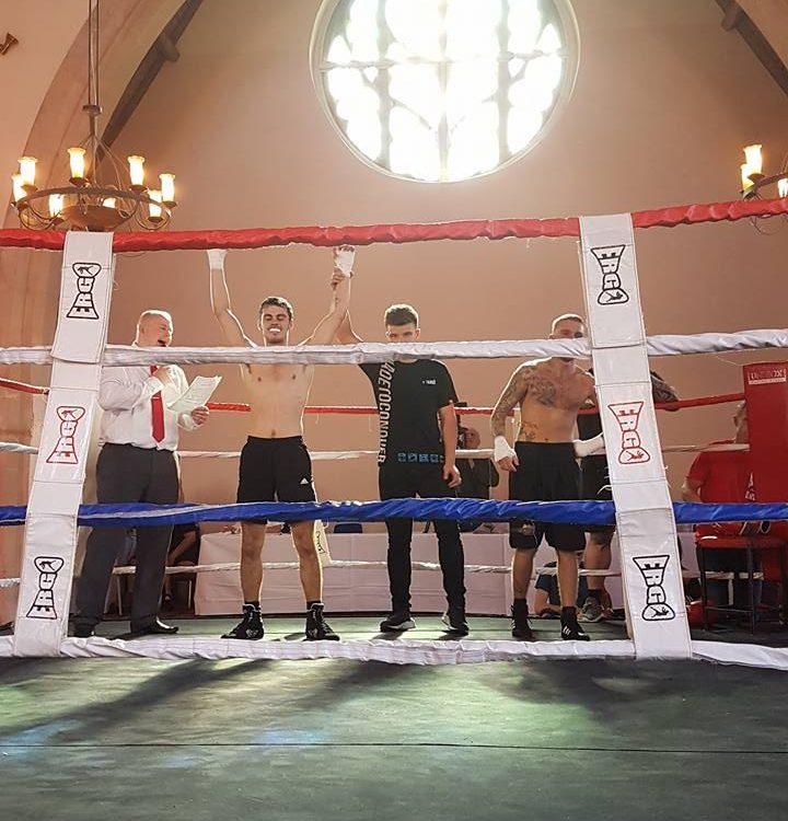 Nathan wins boxing match