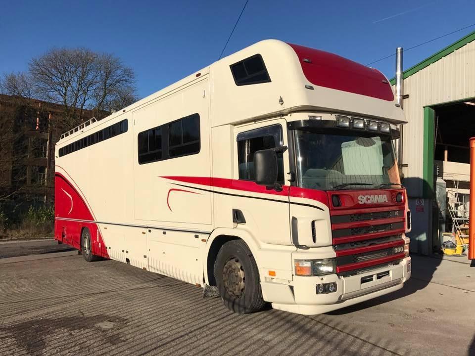Scania Truck Horse Box